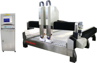 China High Efficiency Stone CNC Engraving Machine Double Row Four Row Slide supplier