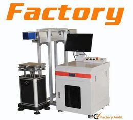 China Flying Type CO2 Portable Laser Marker Metal Etching Marking Machine 800 Mm/S supplier