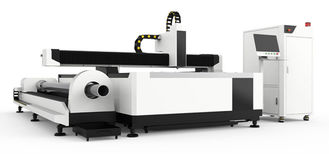 China Open Type CNC Laser Cutting Engraving Machine For Stainless Steel Aluminum Pipes supplier