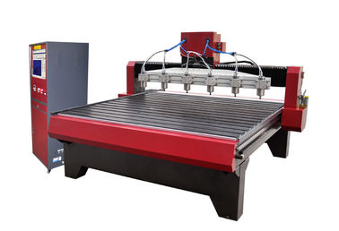China High Speed CNC Wood Engraving Machine Auto Wood Carving Machine 6000rpm - 24000rpm supplier